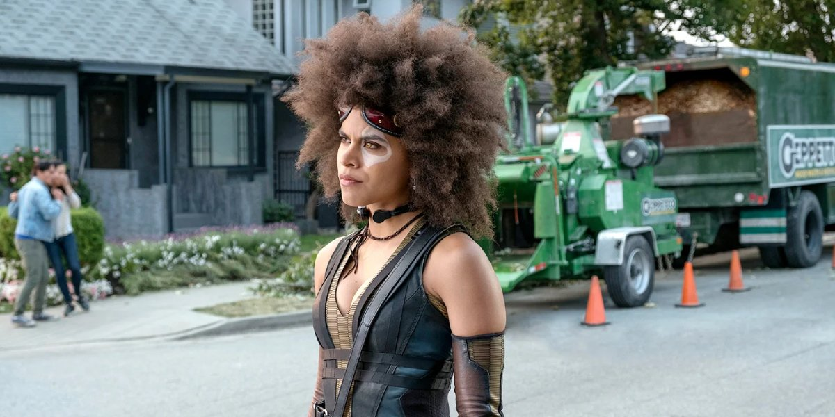 Zazie Beetz in Deadpool 2