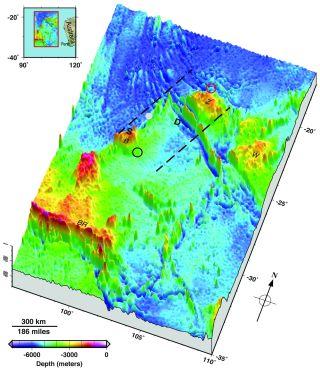 Flight 370 seafloor map