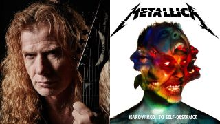 Megadeth's Dave Mustaine and the cover of Metallica's Hardwired… To Self-Destruct