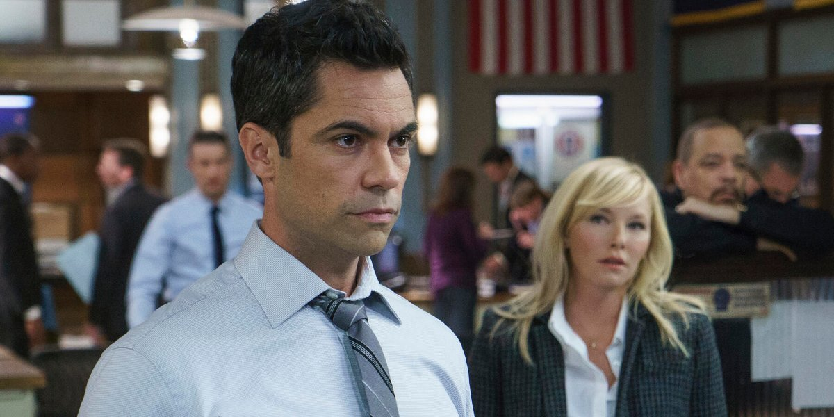 Danny Pino on Law and Order: SVU