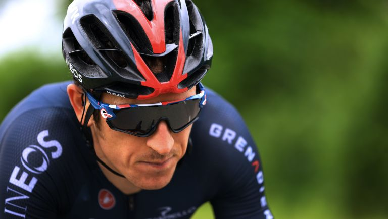 Geraint Thomas on stage one of the Tour de France 2021