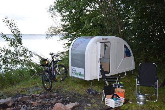 the caravan you can tow behind your bike cycling weekly. Black Bedroom Furniture Sets. Home Design Ideas