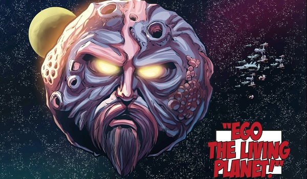 Ego The Living Planet Comic Book Form