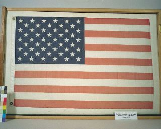 Stars, Stripes and Space: NASA and the 50-Star American Flag