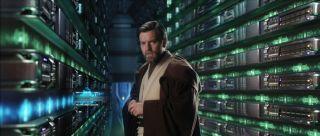 Ewan McGregor as Obi-Wan Kenobi, Jedi knight.