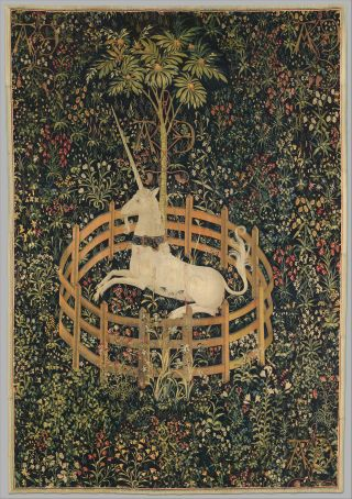 Unicorn tapestry