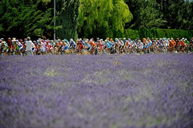 Scenery, Tour de France 2010, stage 11