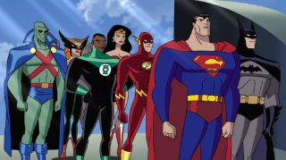 Heroes of the DC Animated Universe in Justice League Unlimited