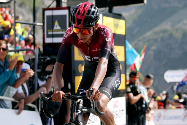 efc983a5 Egan Bernal says team told him not to wait for Geraint Thomas on the  Tourmalet - Cycling Weekly