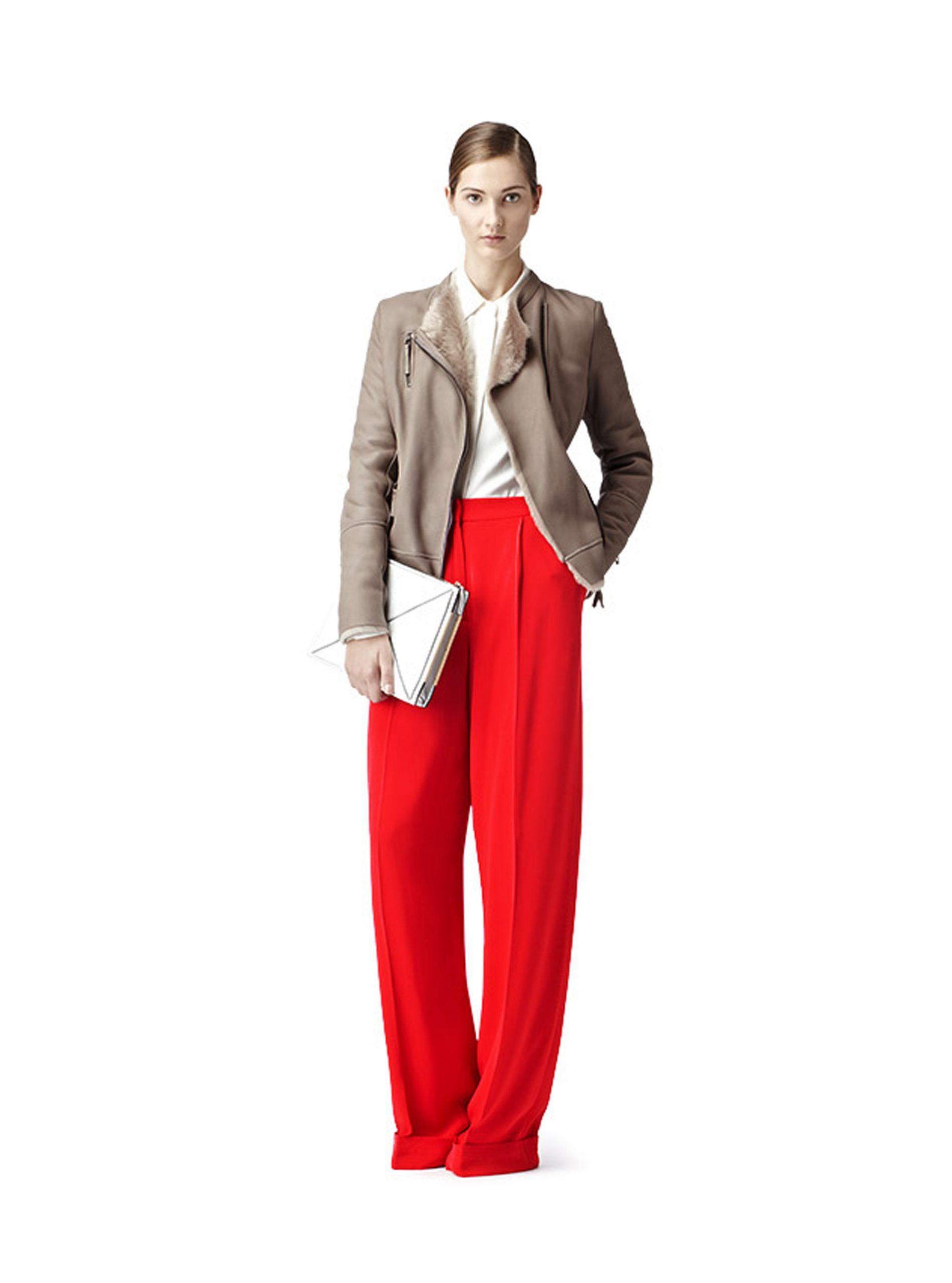 Reiss Jacs Stone model Sheepskin Fashion Buys