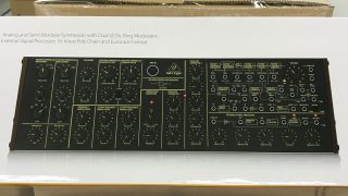 Desktop synth module is ready for shipping