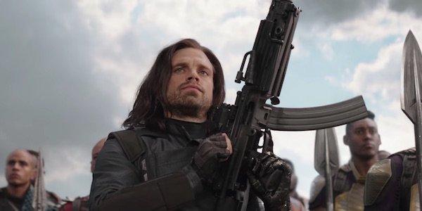 Bucky Barnes in Avengers: Infinity War