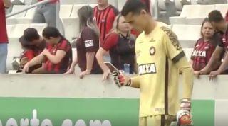 Atletico Paranaense goalkeeper