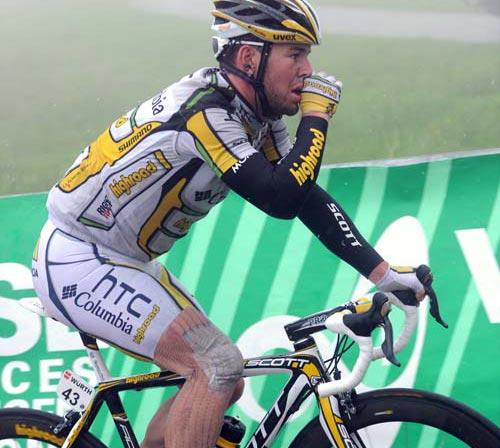 Mark Cavendish, Tour de Suisse 2010, stage 5