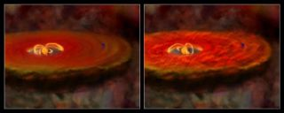Violent Young Stars Hint at Earth's Wild Start
