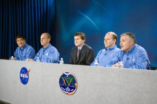 Next ISS Crew, Space Tourist Prepare for Orbital Flight