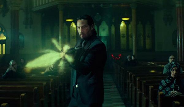 Keanu Reeves John Wick Church scene