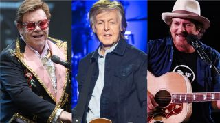 Elton John, Paul McCartney and Pearl Jam's Eddie Vedder