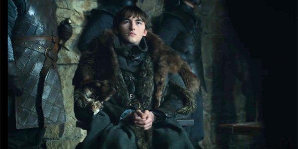 Bran inside during Season 8 Episode 2 of Game of Thrones