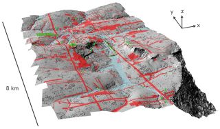 lidar survey showing lost city in cambodia near Angkor