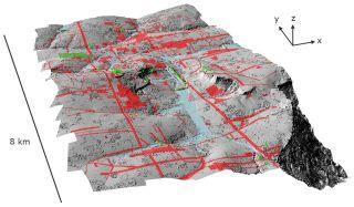 lidar survey showing lost city in cambodia near Angkor