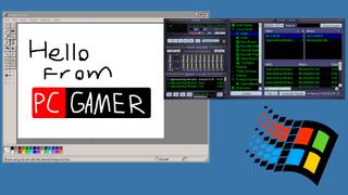 Windows 95 theme