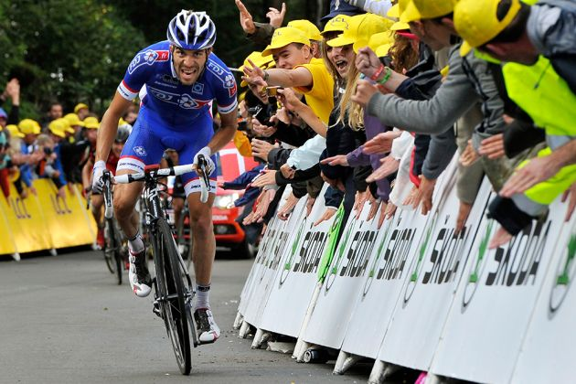 Photo: FDJ's Thibaut Pinot may have finished on the podium at the Tour de France, but he aims to win more races in 2014.