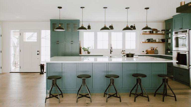 Interior designer Bobby Berk reveals his favorite green kitchen paints