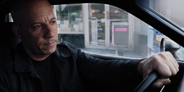 Vin Diesel not looking pleased The Fate of the Furious