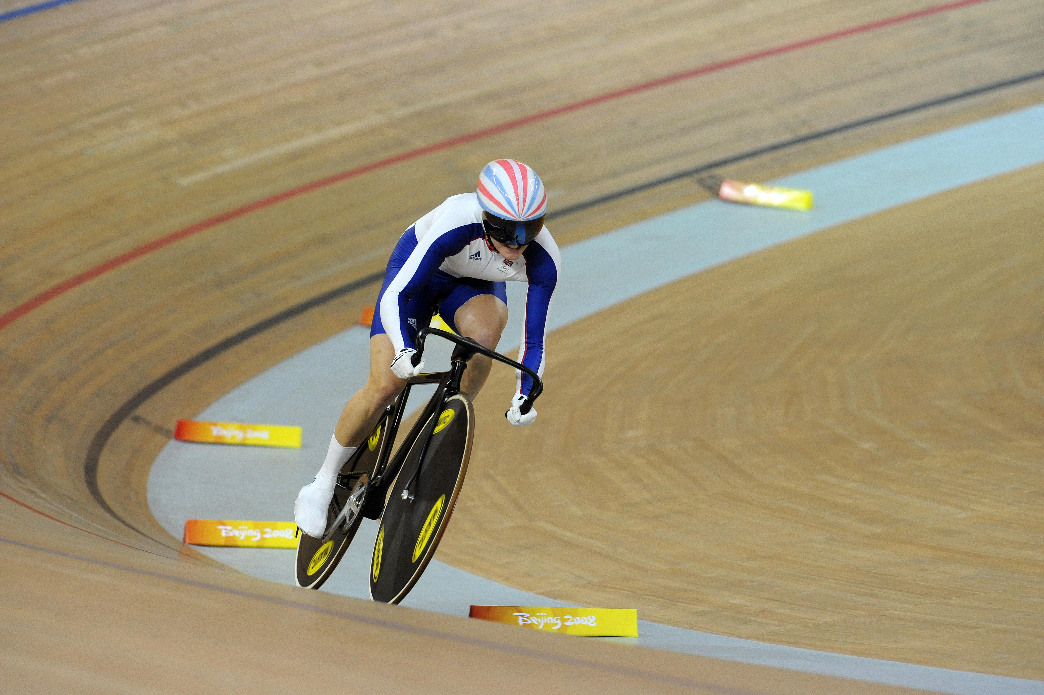 Victoria Pendleton sprint qualifying Olympics 2008