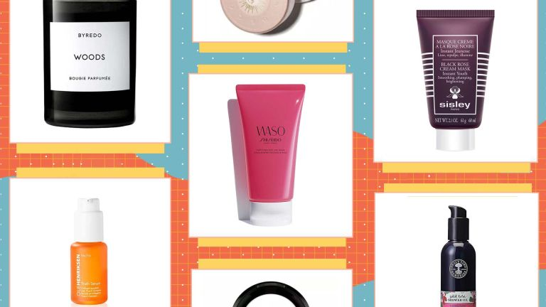 Collage of beauty products
