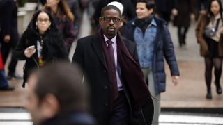 "Sterling K. Brown in the Season 4 episode ""New York, New York, New York"" of ""This Is Us"" on NBC."