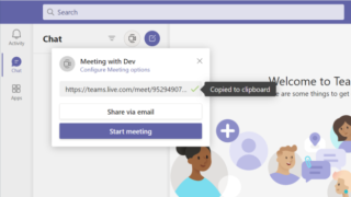 How to send a Microsoft Teams meeting invitation