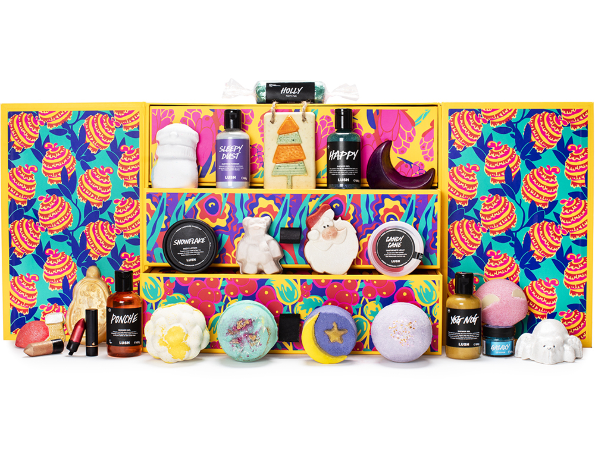 beauty advent calendars 2020, Lush Advent calendar