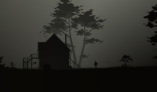 Spooky farmhouse in Kentucky Route Zero