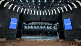 Daktronics Displays Installed at Steven Tanger Center for the Performing Arts