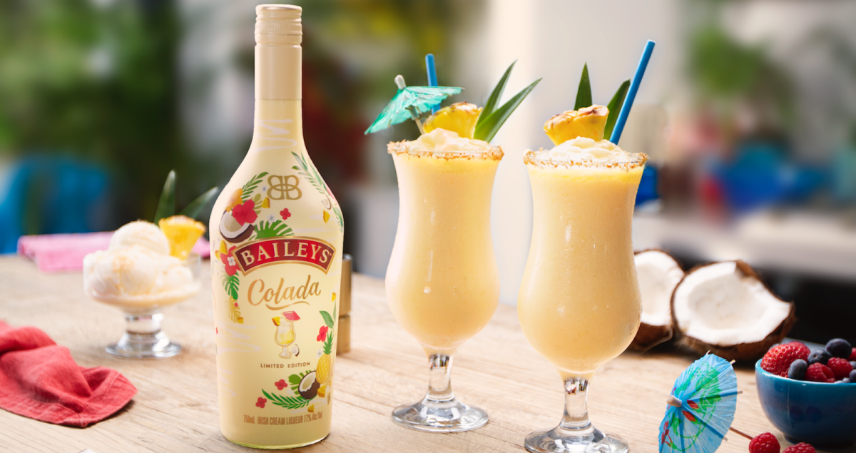 The new Baileys Colada feels like a tropical getaway in a glass