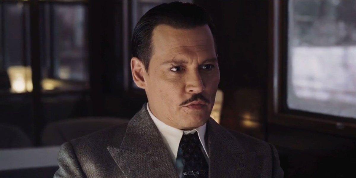Johnny Depp in Murder on the Orient Express