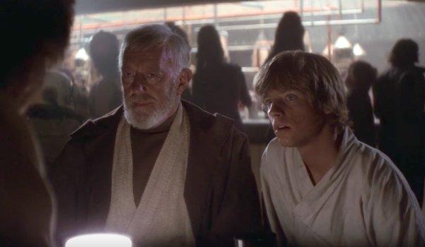 star wars a new hope cantina scene luke skywalker obi-wan