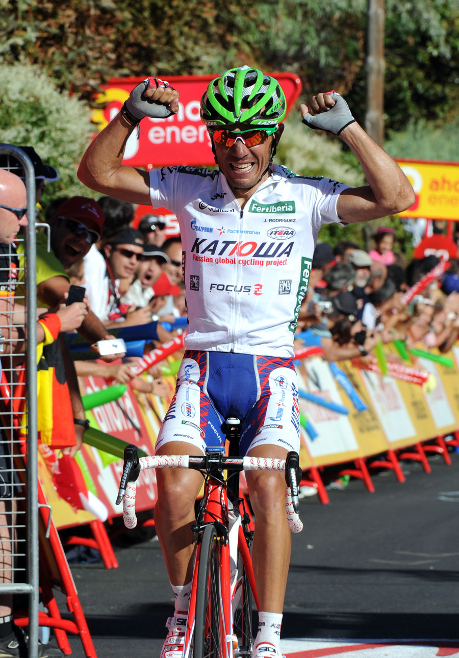 Joaquin Rodriguez wins, Vuelta a Espana 2011, stage eight