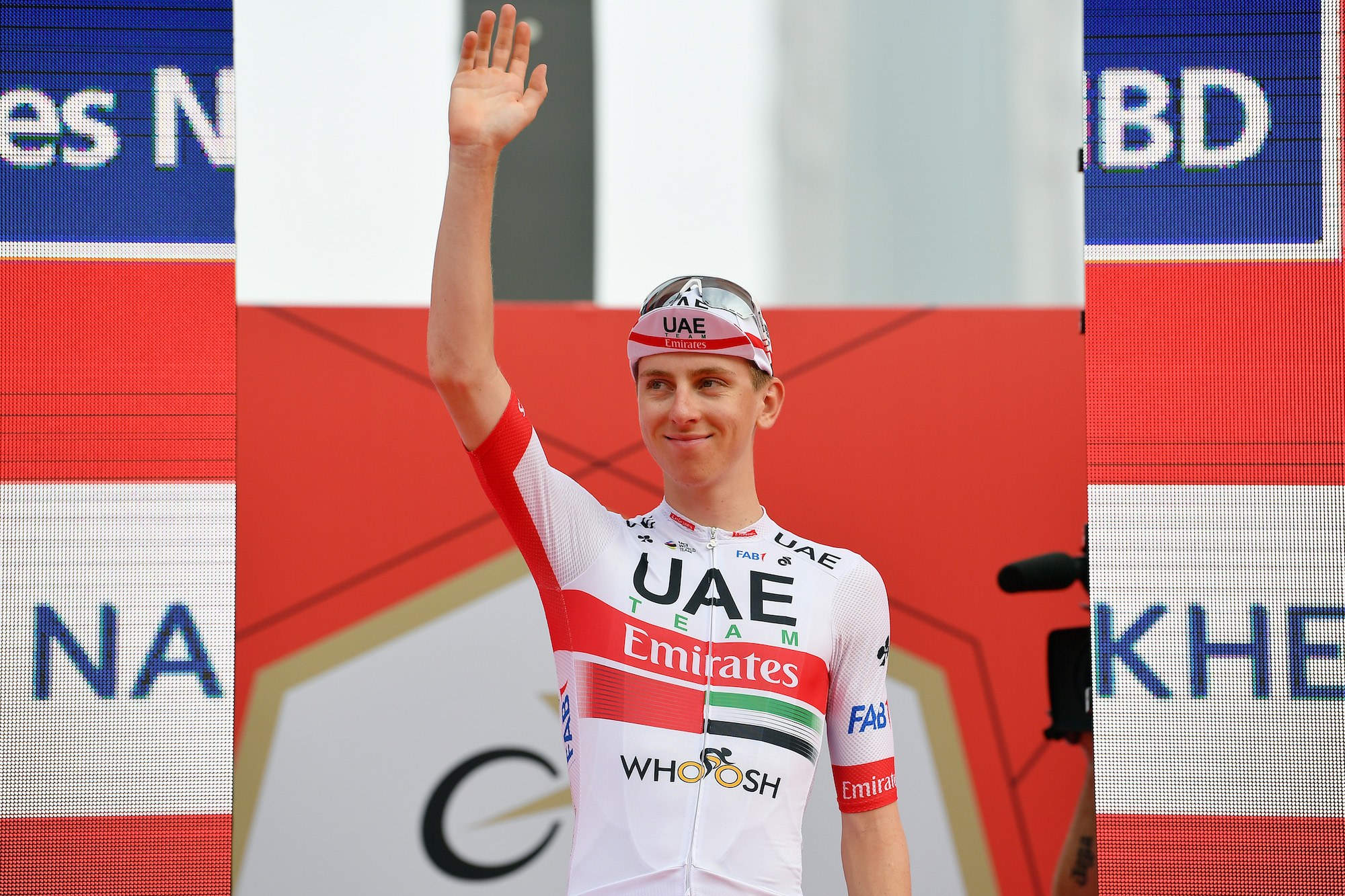 Tadej Pogačar narrowly takes victory from Lutsenko on stage five of the UAE Tour 2020 - Cycling Weekly