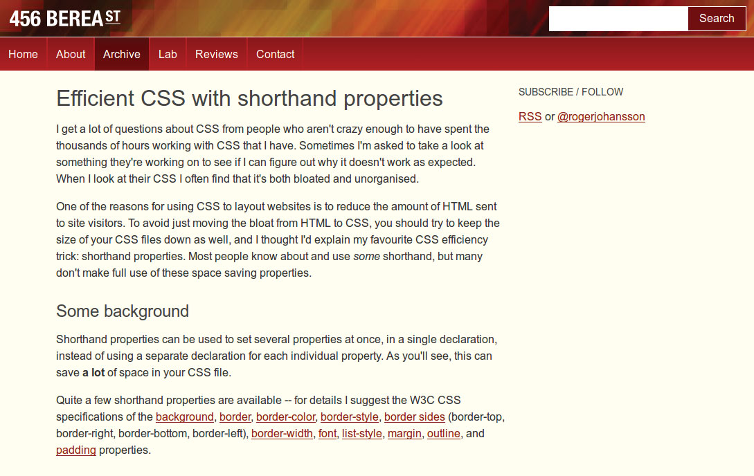 21 ways to optimise your CSS and speed up your site | Creative Bloq