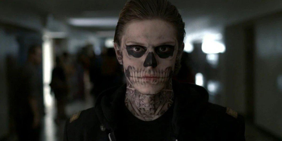 Evan Peters as Tate in American Horror Story