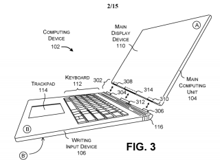 Is this the Surface Book 3? Patent reveals strange new Surface device