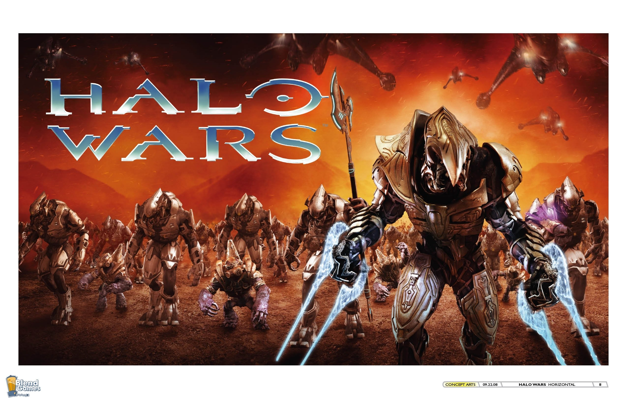 Halo Wars New Artwork And Wallpapers #4575