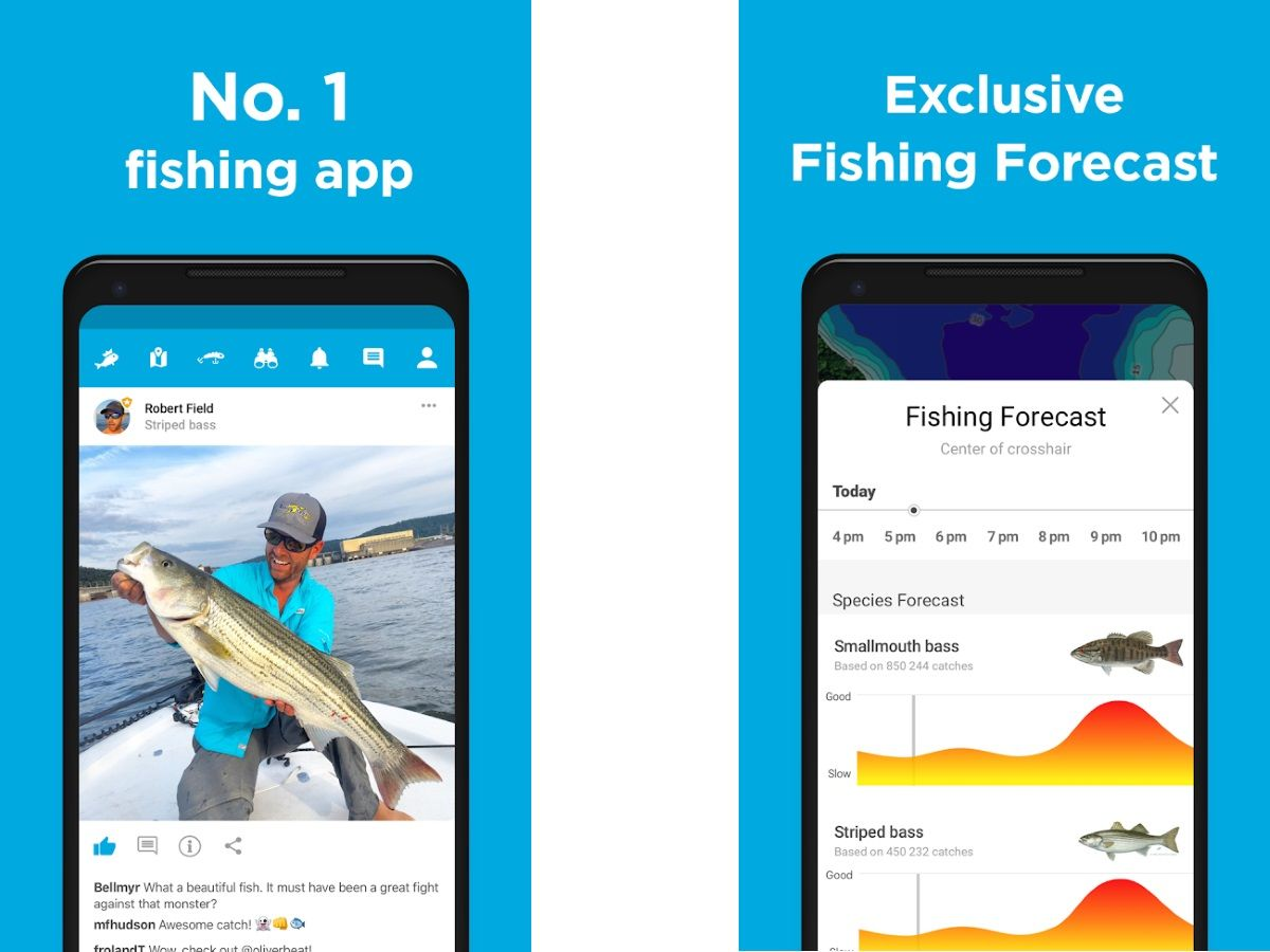 Best Fishing Apps 2019 - Maps, GPS Locations & Weather for