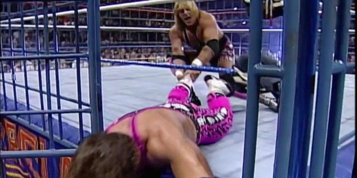 Owen Hart and Bret Hart at SummerSlam '94