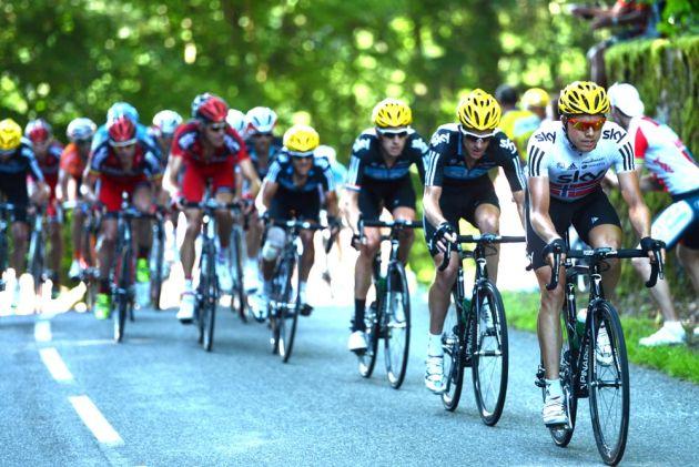 Edvald Boasson Hagen, Tour de France 2012, stage seven