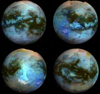 global titan color map cassini