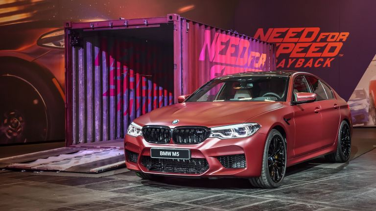 Bmw M5 Breaks Cover At Gamescom T3